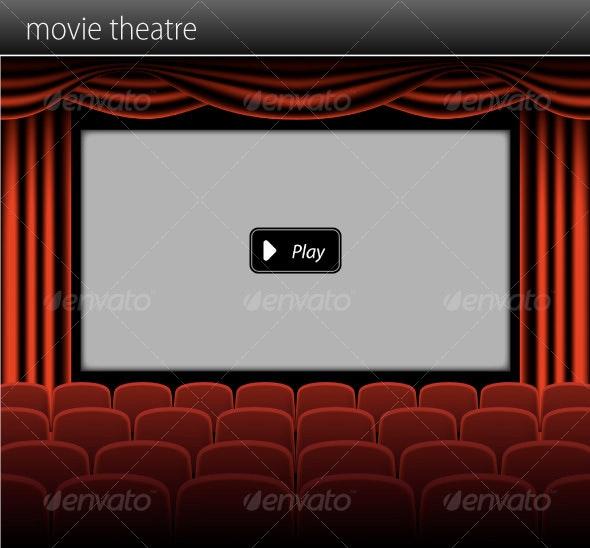 Movie Theatre By Cristianalm Graphicriver
