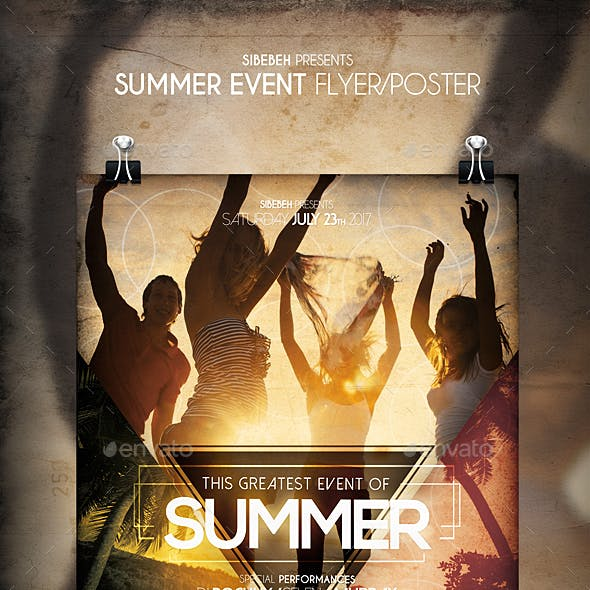 Summer Event Flyer / Poster