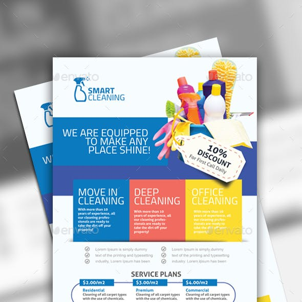 Cleaning Flyer