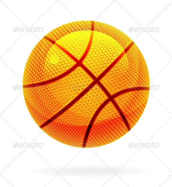 Basketball Ball  - Objects Vectors