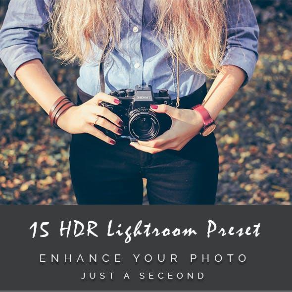 15 HDR Lightroom Preset