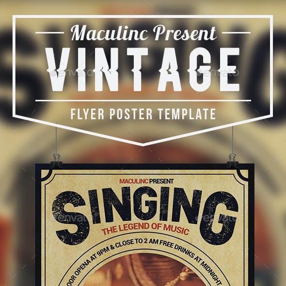 Vintage Flyer/Poster Vol.6