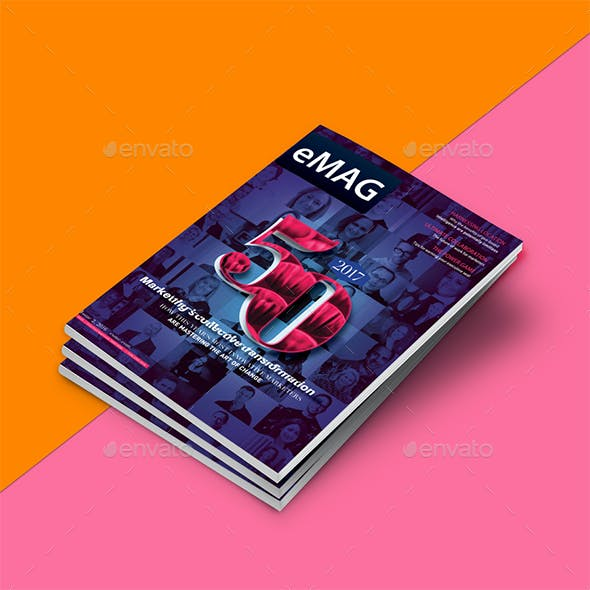 Newburn Marketing / Technology Magazine  InDesign Template