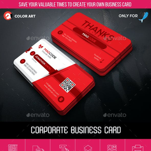 Corporate Business Card V.1