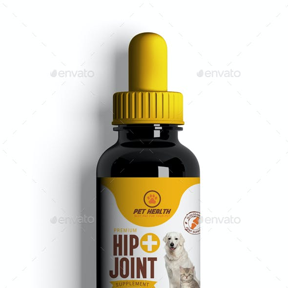 Dog Hip & Joint Supplement Label-01