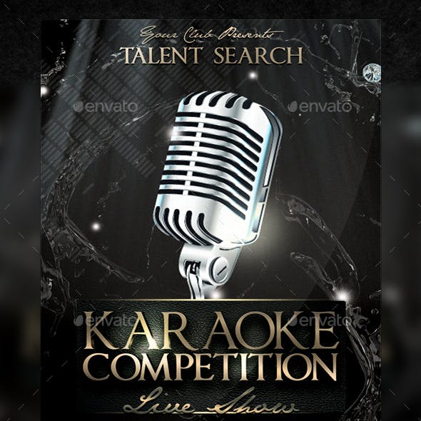 Karaoke Competition Flyer