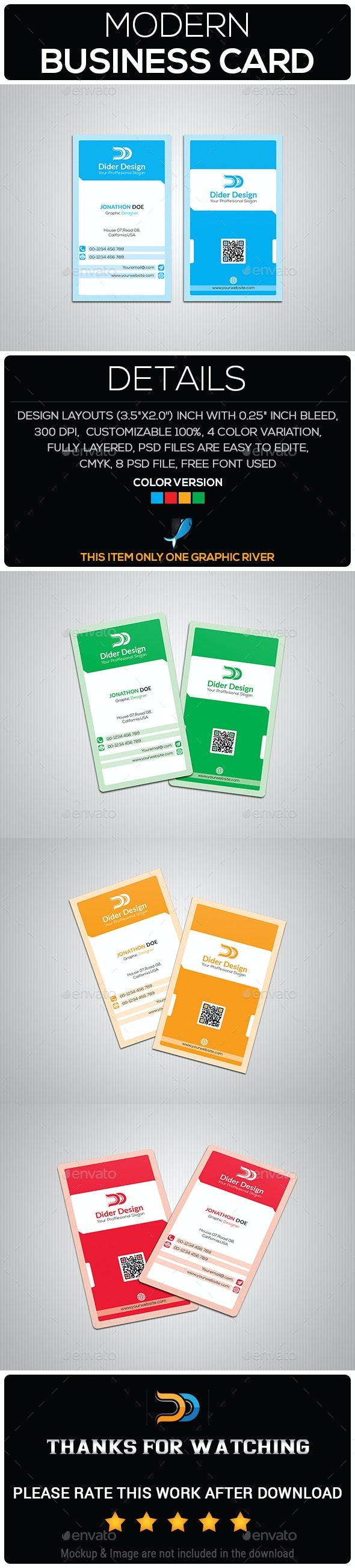 Modern Business Card - Flyers Print Templates