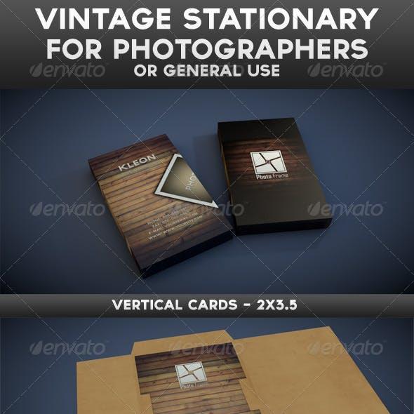Vintage Stationery