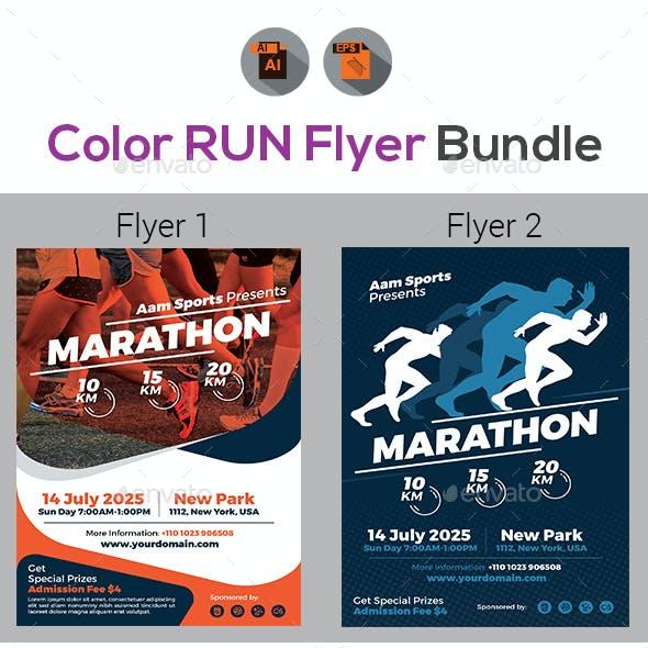 Marathon Flyer Bundle