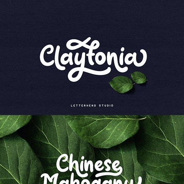 Claytonia Bold Script