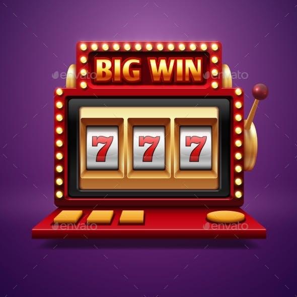 Jackpot Slot Casino Machine
