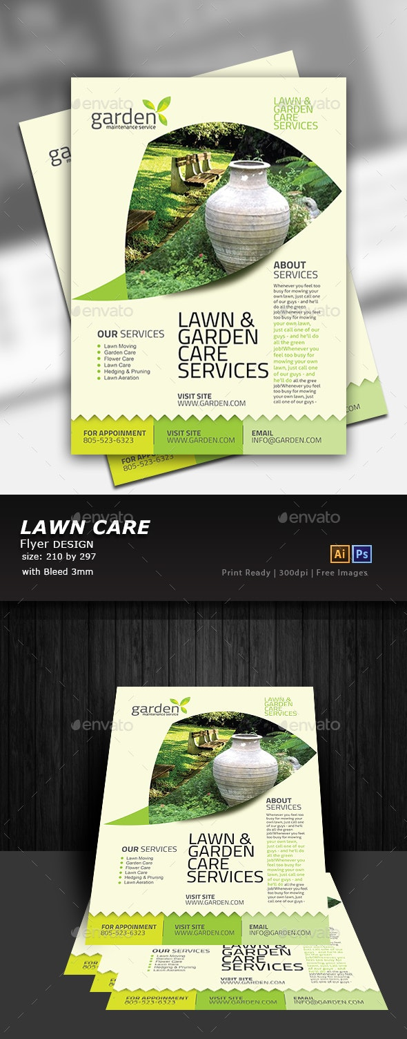 Garden Flyer - Flyers Print Templates