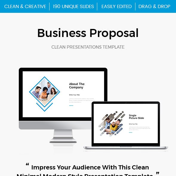 Business Proposal PowerPoint Template 2017