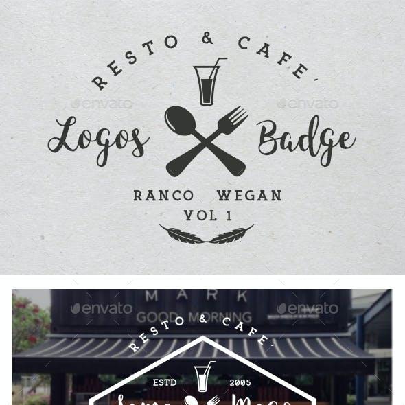 Resto & Cafe' Badges