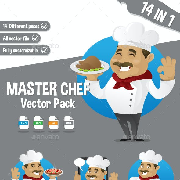 Chef Vector Pack