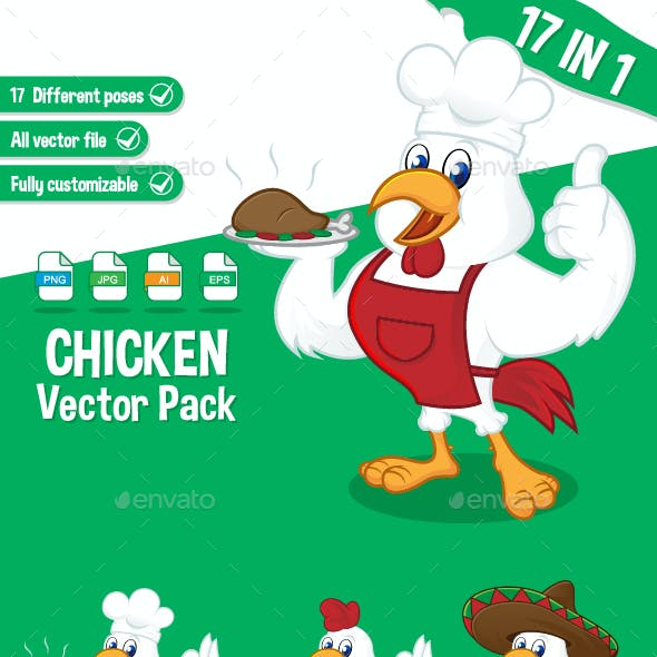 Chicken Vector Pack