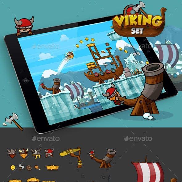 Physics Game - Vikings Set