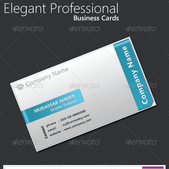 Elegant Professional Business Cards