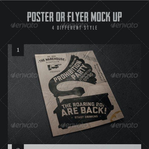 Various Poster Mock-ups