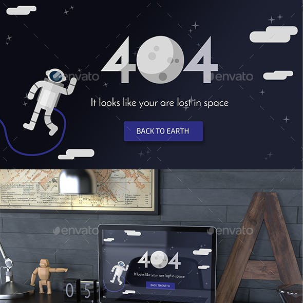 Lost in Space 404 Page