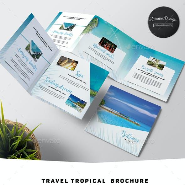 Travel Tropical Brochure