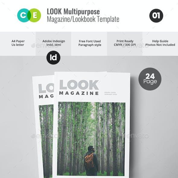 Look   The Magazine Lookbook V01