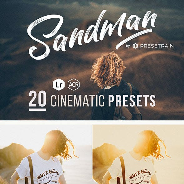 Sandman - 20 Cinematic Presets for Lightroom & ACR