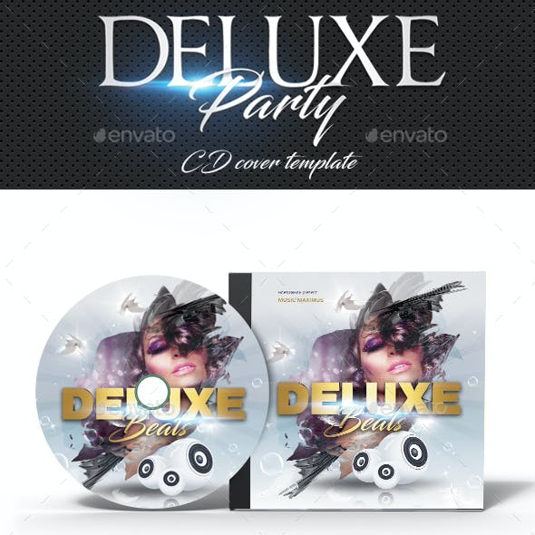 Deluxe Dj Party CD Cover 2