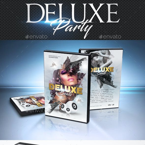 Deluxe Dj Party DVD Cover Template 2