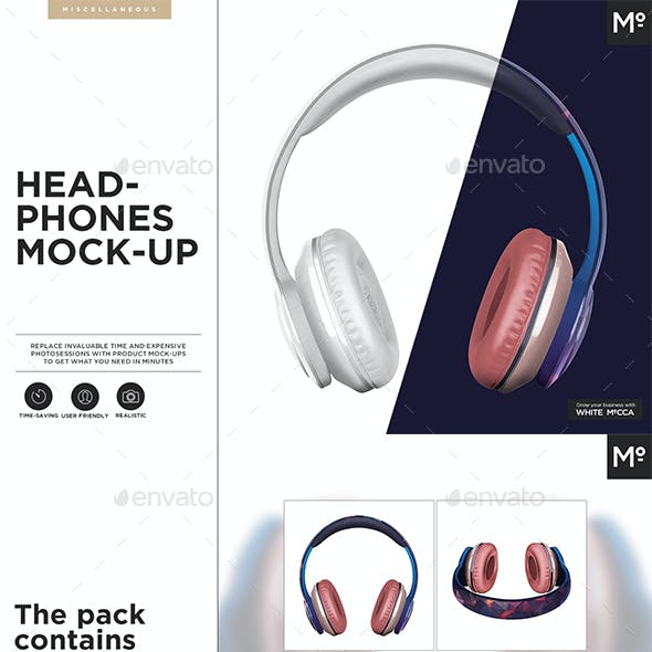Headphones Mock-up