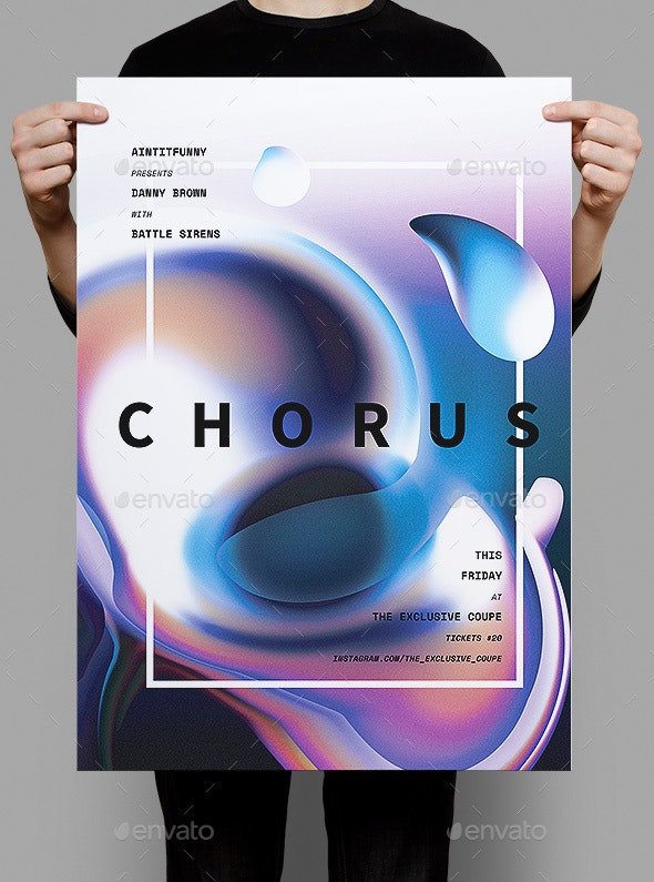 Chorus Poster / Flyer - Events Flyers