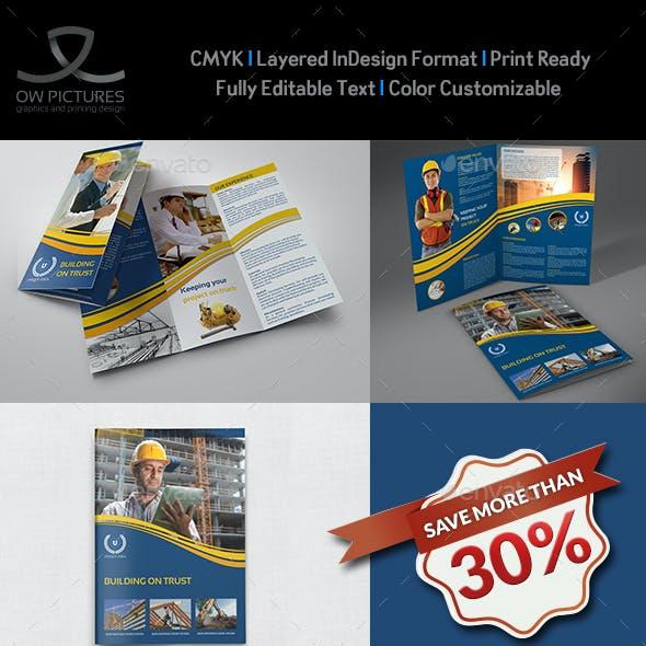 Construction Company Brochure Bundle Vol.1