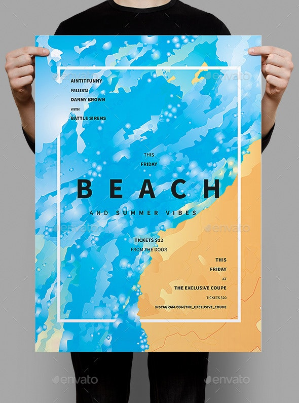 Beach Summer Flyer / Poster - Events Flyers