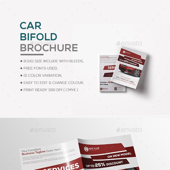 Car Bifold Brochure
