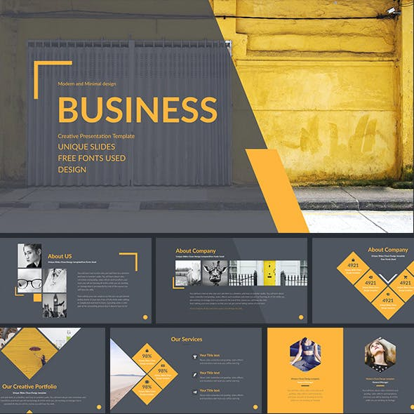 Business - Simple Multipurpose Powerpoint Template