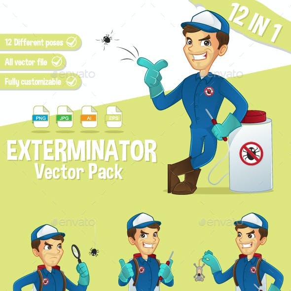 Exterminator Vector Pack