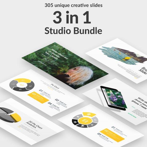 Studio Bundle Powerpoint Template
