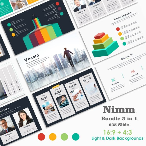 Nimm Bundle Business Keynote Template