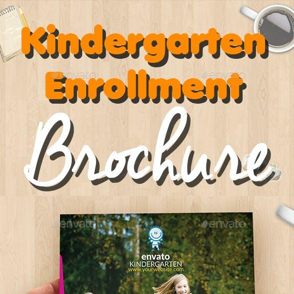 Kindergarten Enrollment Brochure