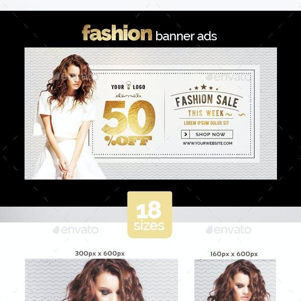 Fashion Banner Ads