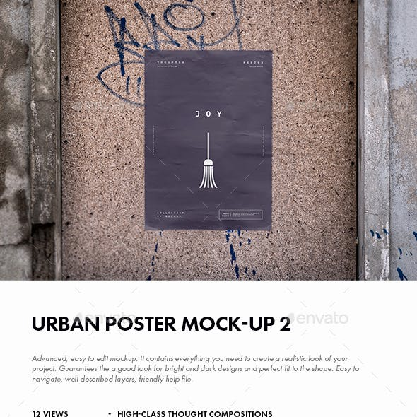 Urban Poster Mock-up 2