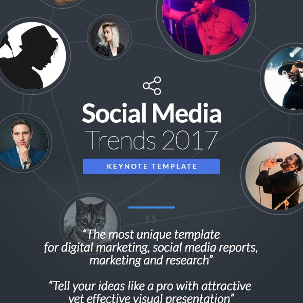 Social Media Trends - Keynote Template