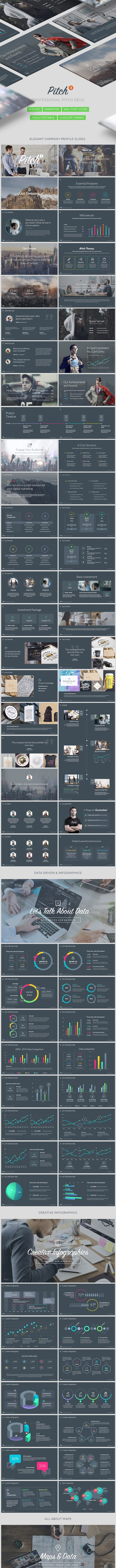 Pitch Vol.3 - Professional Powerpoint Template - PowerPoint Templates Presentation Templates