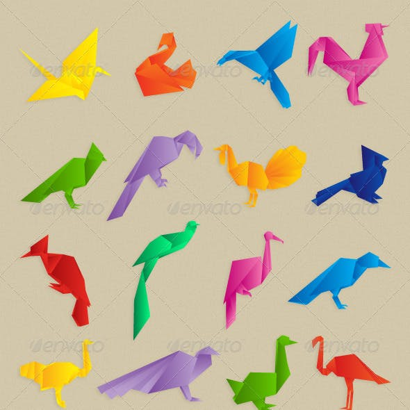 Origami Birds Collection
