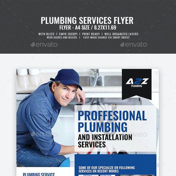 Plumbing Services Flyer