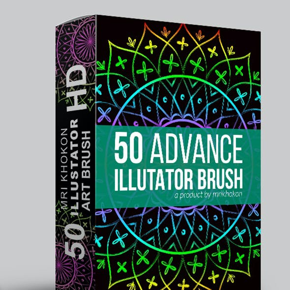 50 Illustrator Brush Sets 6