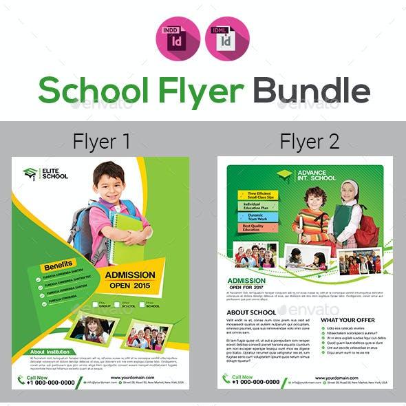 Kids School Flyer Bundle