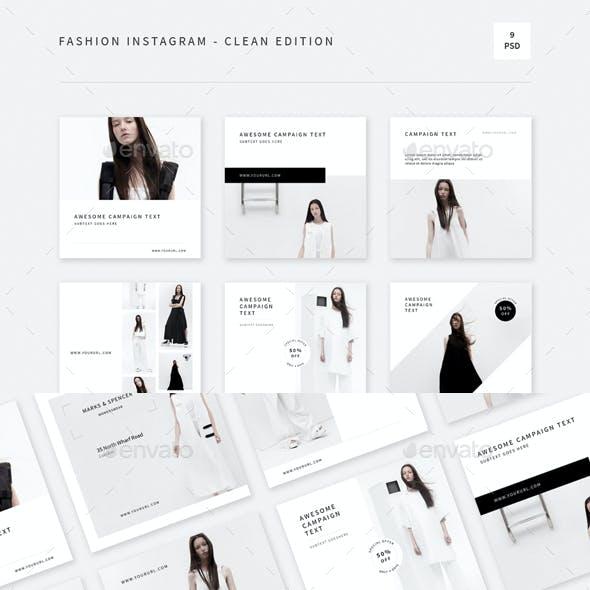 Fashion Instagram - Clean Edition