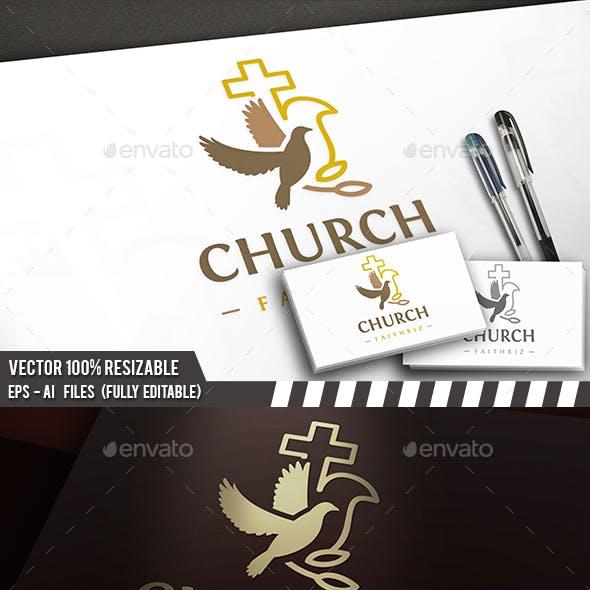Dove Church Cross Logo