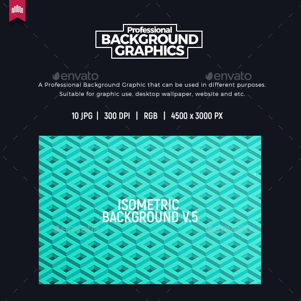 Isometric Background V.5